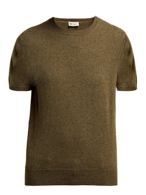 CONNOLLY short sleeved fine knit cashmere sweater