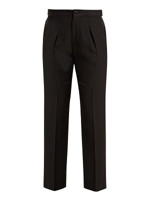 CONNOLLY smoking high rise tuxedo trousers