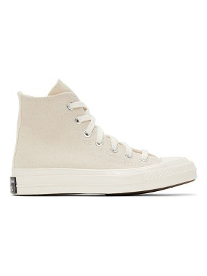 Converse beige chuck 70 high sneakers