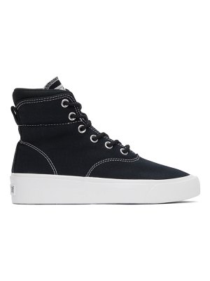 Converse black skid grip cvo high sneakers