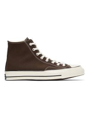 Converse brown chuck 70 high sneakers
