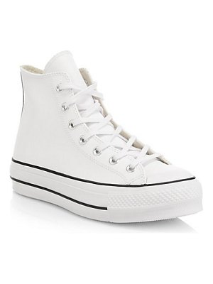 Converse chuck taylor all star lift clean high-top sneakers