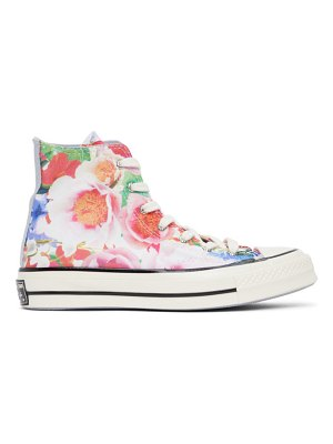 Converse multicolor floral chuck 70 high sneakers