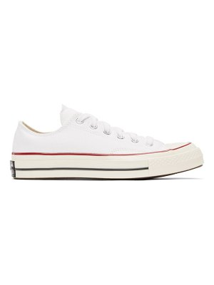 Converse white chuck 70 ox sneakers
