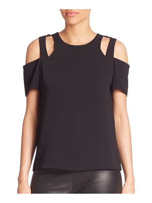 Cooper & Ella Padma Cold-Shoulder Top