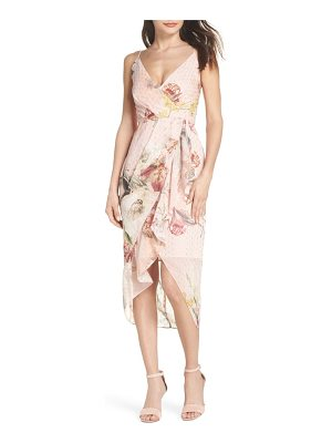 COOPER ST . flora fade drape dress