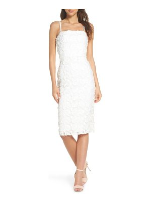 COOPER ST floral mirage embroidered lace dress