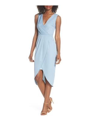 COOPER ST florence drape sheath dress