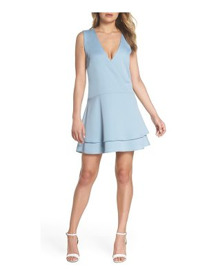 COOPER ST florence v-neck minidress