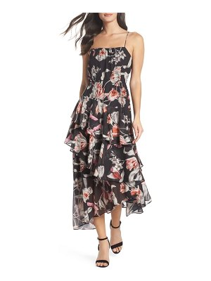 COOPER ST harlow floral midi dress