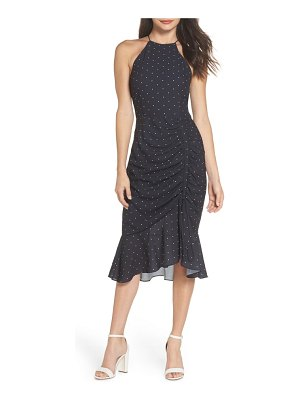 COOPER ST portia high neck midi dress