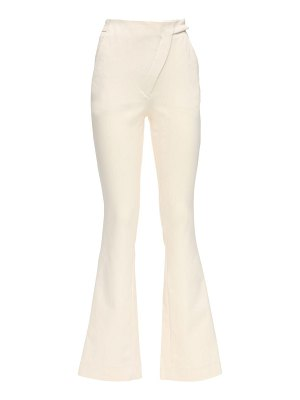 COPERNI Stretch cotton tailored flared pants