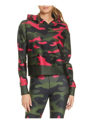 COR designed by Ultracor camo crop hoodie