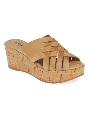 Cordani dorene slide wedge sandal
