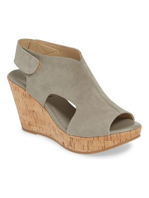 Cordani reed wedge sandal
