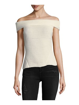 Cosette Off-The-Shoulder Cotton Top
