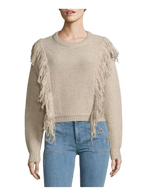 Cosette Fringed Wool Sweater
