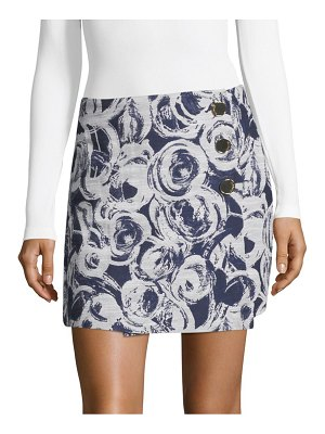 Cosette Juliette Printed Mini Skirt