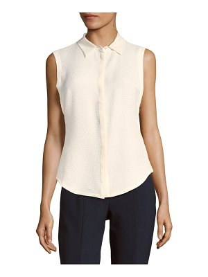 Cosette Textured Collared Top