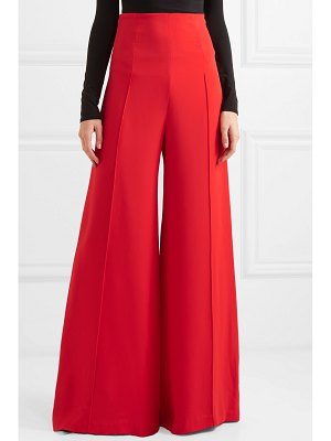 Costarellos crepe wide-leg pants