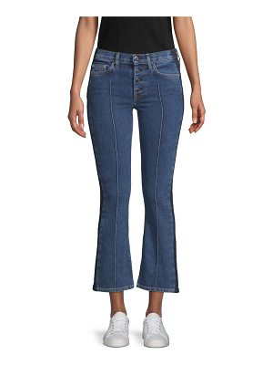 Cotton Citizen denim cropped flare jeans