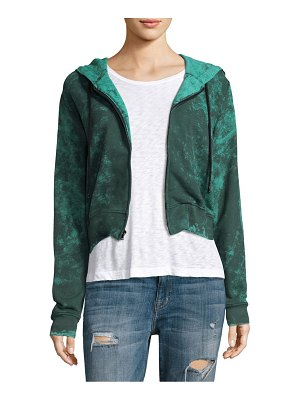Cotton Citizen Milan Cropped Zip-up Hoodie