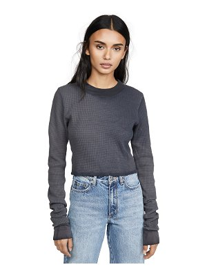 Cotton Citizen monaco crop tee