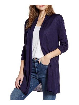 CENY long open front cardigan