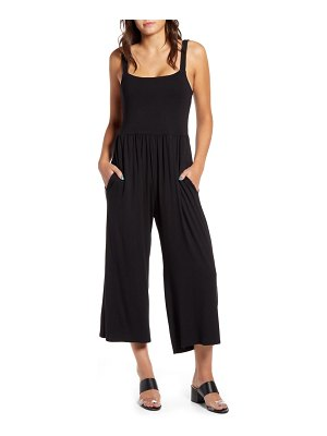 Cotton Emporium wide leg crop jumpsuit