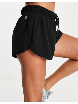 Cotton:On cotton: on active shorts in black