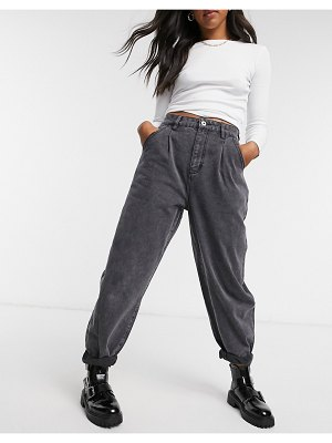 Cotton:On cotton: on slouch jean in washed black
