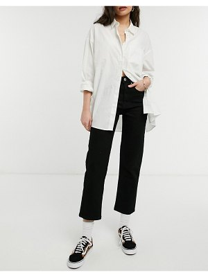 Cotton:On cotton: on straight stretch jeans in black
