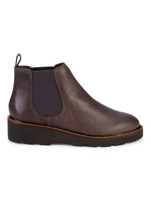COUGAR Grill Waterproof Leather Wedge Chelsea Boots