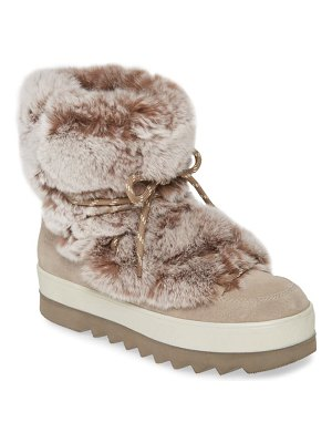 COUGAR vivian limited edition genuine rabbit fur boot