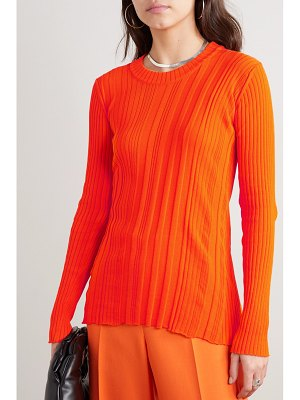 Courreges ribbed cotton sweater