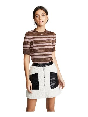 Courreges striped top