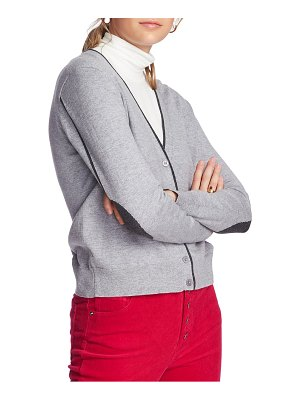 Court & Rowe elbow detail tipped cardigan