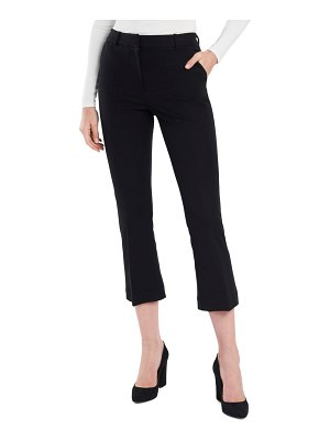 Court & Rowe flat front crop straight leg trousers