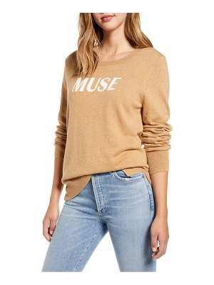 Court & Rowe muse cotton blend sweater