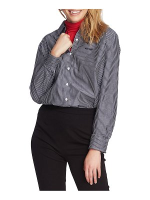 Court & Rowe preppy embroidered stripe shirt