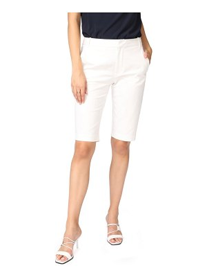 Court & Rowe stretch cotton twill bermuda shorts