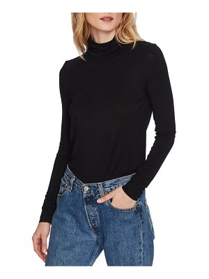 Court & Rowe stretch jersey turtleneck top