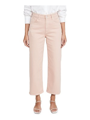CQY sunday wide leg crop jeans