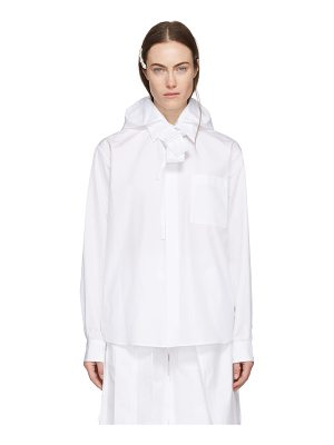 Craig Green Cotton Poplin Hood Shirt