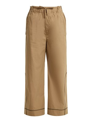 Craig Green Drawstring-waist cotton-blend trousers