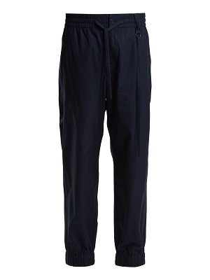 Craig Green Elasticated waist cotton track pants