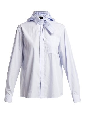 Craig Green Hooded Cotton Shirt
