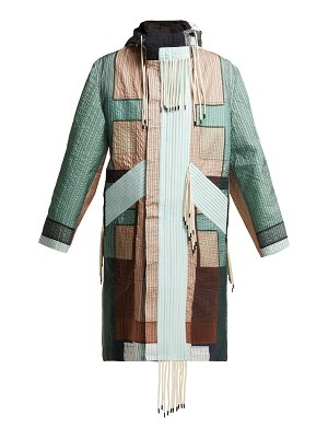 Craig Green Patchwork Hooded Parka