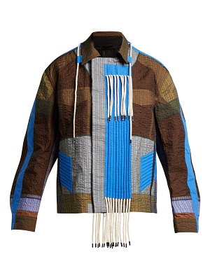 Craig Green Patchwork Rope Tassel Jacket