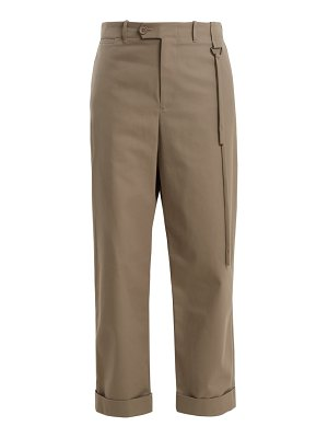 Craig Green High Rise Wide Leg Tailored Trousers